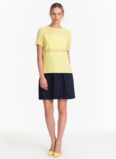 Stefanel Bluz Sarı